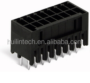 Straight solder pins length 3.8 mm wago MCS 713 connectors