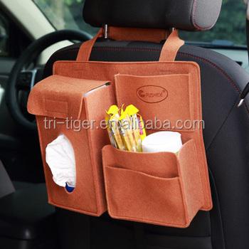 Pu Leather Car Back Seat Organizer For Kids Buy Back Seat Organizer For Kids Leather Organizer Pu Car Organizer Product On Alibaba Com