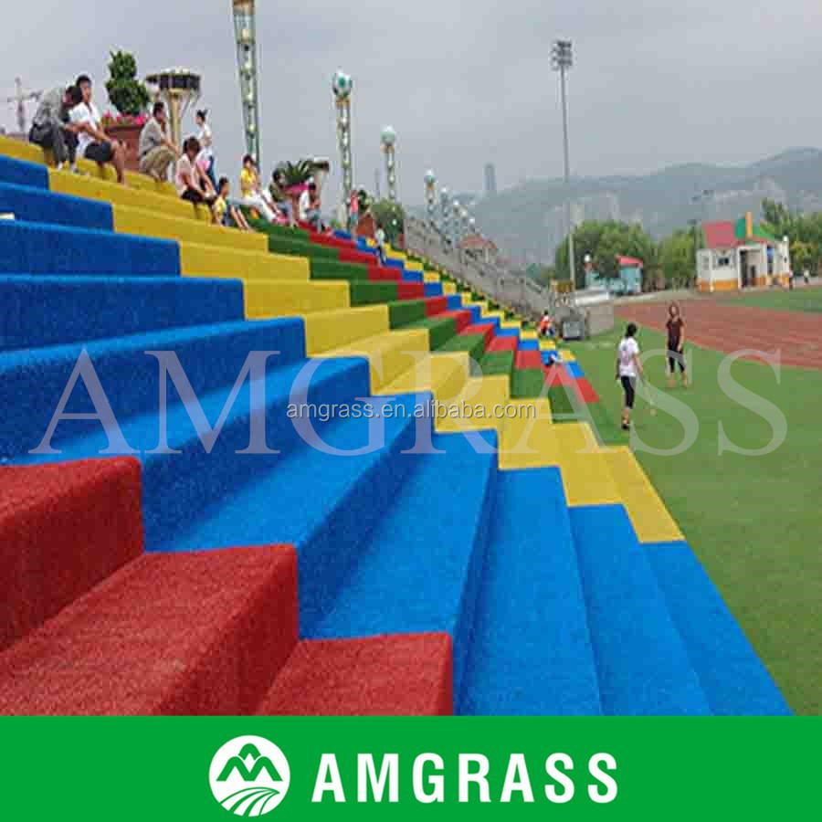 High Quality Colorful Artificial Turf Sport Running Track Grass