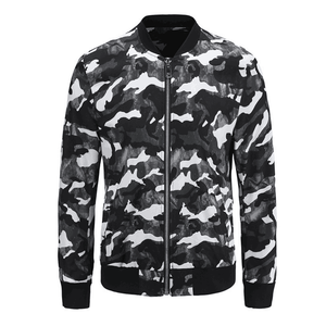 Professional Manufacture wholesale men camo autumn spring motorcycle activewear jackets