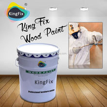 high quality cheap price UV cured wood table paint