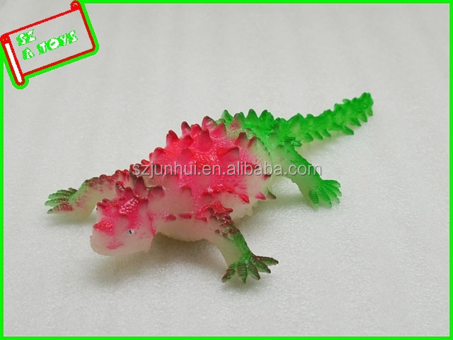 Home decor colorful lézards squishy