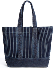 Heavy cotton canvas tote bag  denim beach bag