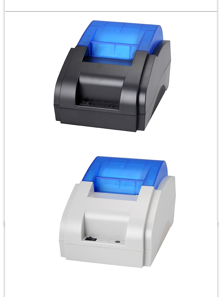 Free shipping Thermal Printer Unique personality pos printer High quality 58mm thermal receipt printer printing speed Fast