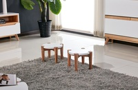 Beech veneer famous simple chair cafe short chair producer located at China