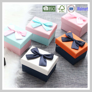 Wholesale Small Hard Paper Box Packaging Jewelry