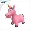 New Design Inflatable unicorn Bouncing Jump animal toy