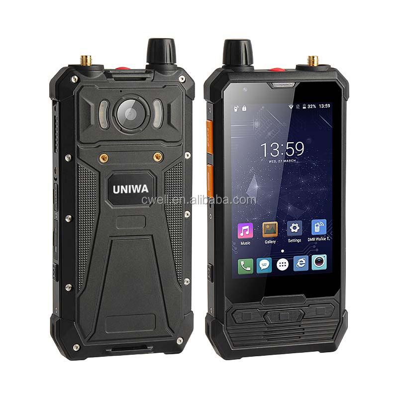 IP67 Waterproof 5W 4G LTE Android DMR Radio Phone POC Walkie Talkie by 3rd Party Apps