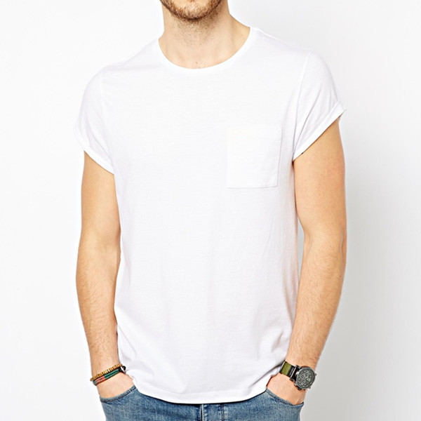 High Quality Super Lightweight Soft Cotton Fashion Men White ...
