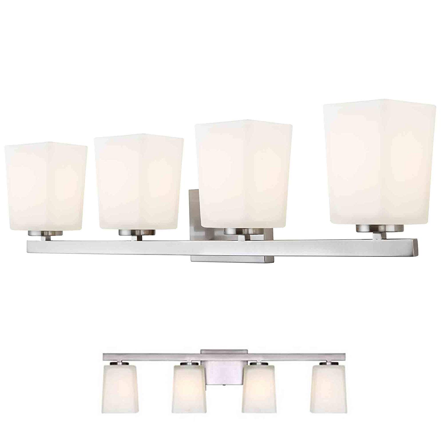 glass light globes light fixture get quotations brushed nickel vanity light fixture bathroom bath bar flat opal glass globes cheap globes find deals on line at