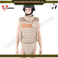 Alibaba China supplier used bulletproof vest with tempered glass
