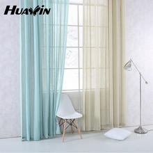 finished sheer curtain in many colors