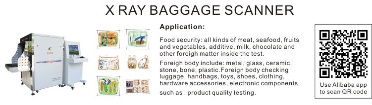 New Hot Selling High Quality Airport Security X Ray Baggage Scanners for Egypt Airport