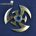 Naruto Shuriken Kunai Sharingan Dart Fidget Hand Spinner Metal 2017 New Alloy Naruto Sasuke Weapon Rotate