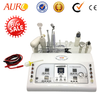 AURO Manufacturer Beauty Supply 8 in 1 Facial Portable for Home Use Ultrasound Galvanic Facial Apparatus Beauty Machine