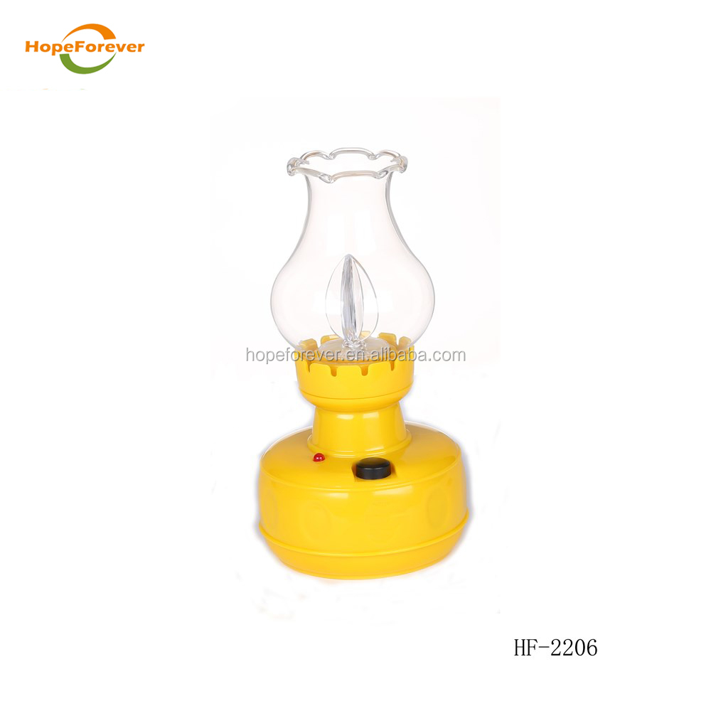 Yellow Gourd-shape Emergency light Latest Design Rechargeable led emergency light from Factory