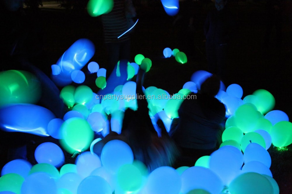 Led White Balloons For Wedding and Party Decorations