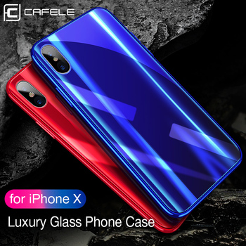 CAFELE Brand High Quality Anti Shock Mobile Accessories Mirror Wholesale Laser Engraving Cell Phone Case For X Xs Xr