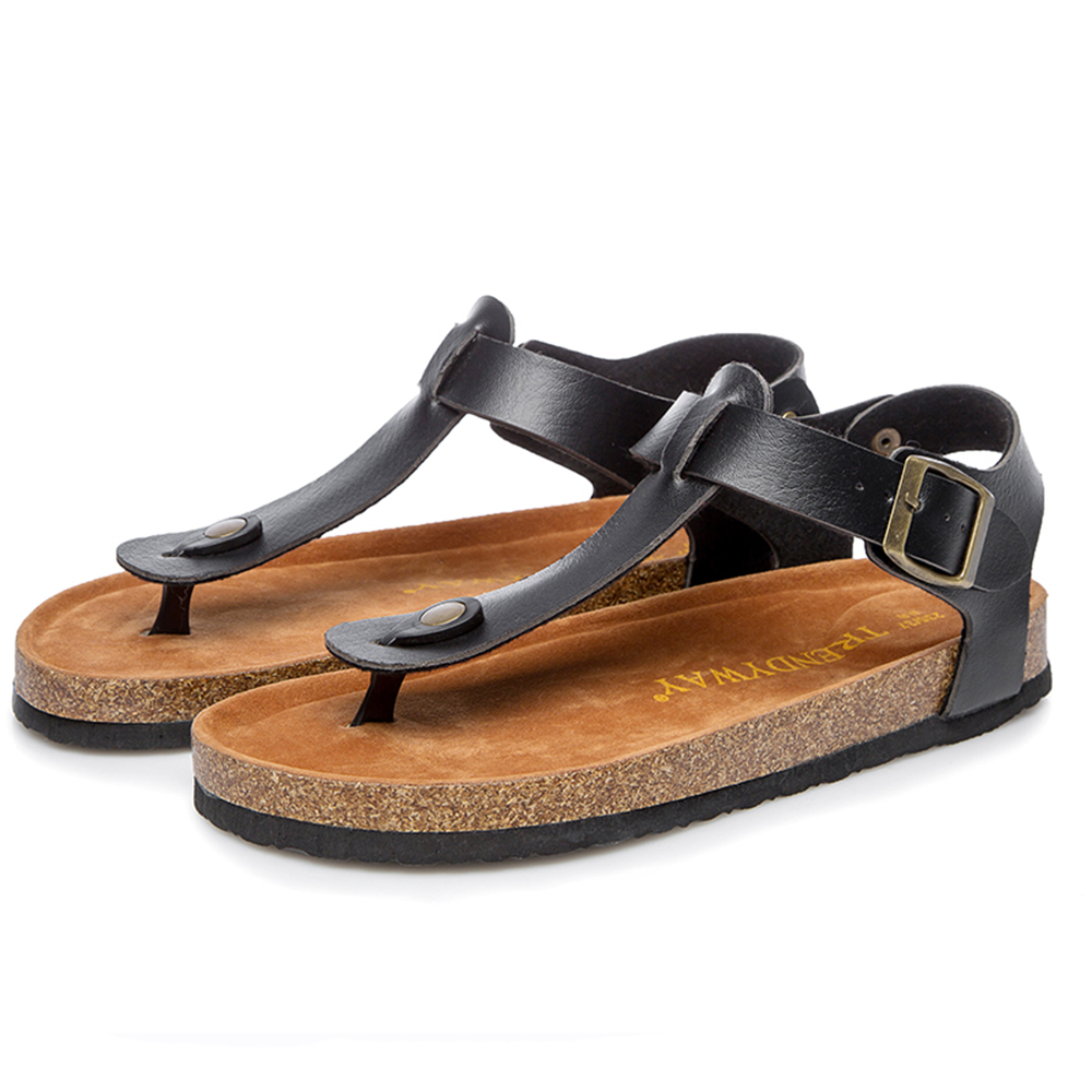 6b69b20271a Hot Sale 2018 Vento Sandals for Men Sandals New Cork Footbed Sandals C1020