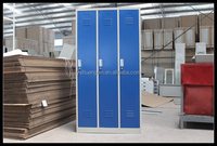 Stainless filing cabinet Premium Steel Lockers - Assembled wardrobe cabinet sales/school lockers gym wire