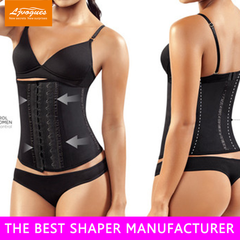High Quality print latex waist cincher 17