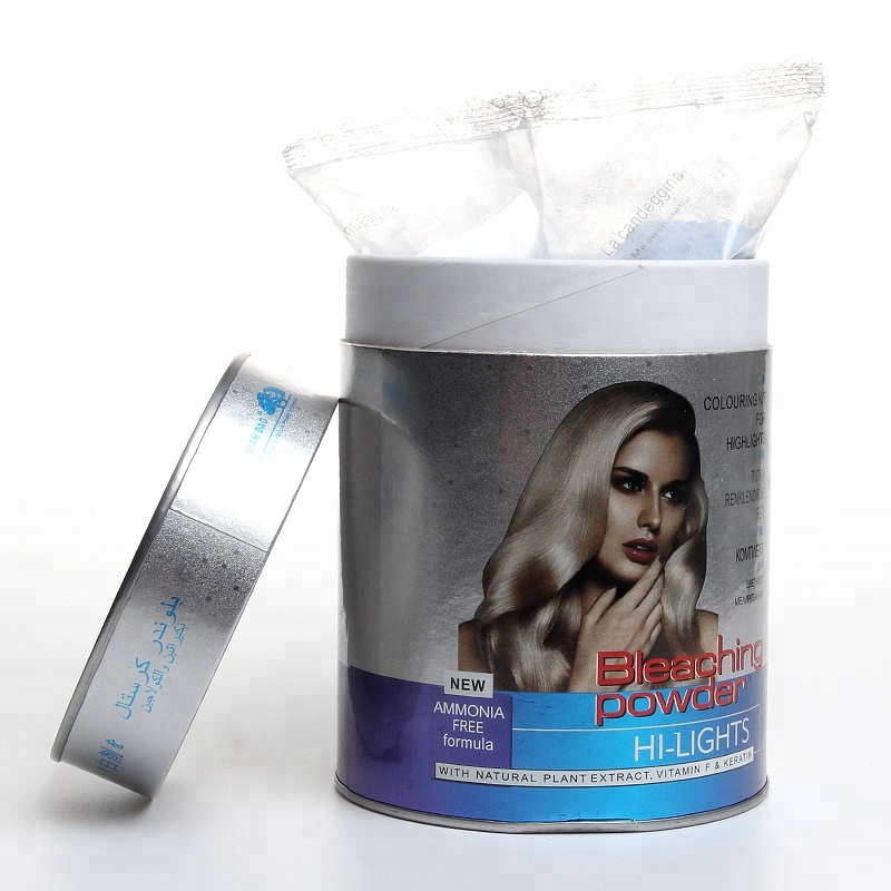 Dust FreeWhite /Blue  Color Bleaching Powder for hair