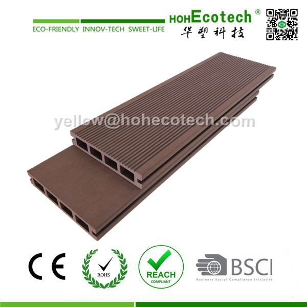 WPC outdoor terrace/patio decking floor boards