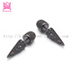 fashion black stud and spike earrings for girls and boys SSE041
