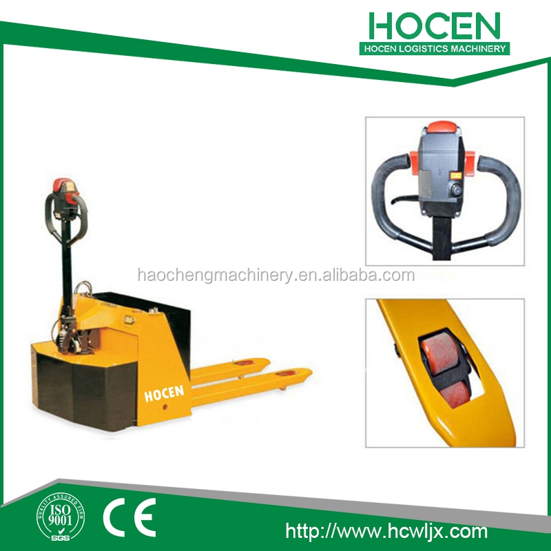 Mini 2500KG Capacity semi electric Power Pallet jack Price