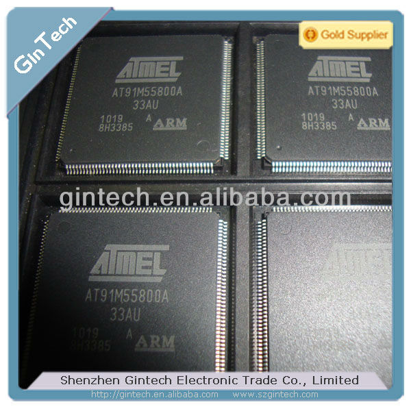 (Electronic Components)AT91 ARM Thumb-based Microcontrollers AT91M55800A-33AU