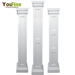 2018 New Design Modern Square Pillar Design For Decoration