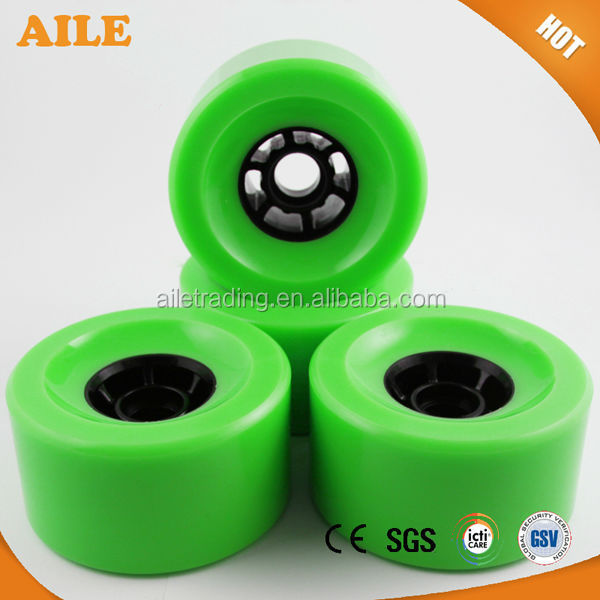 High Quality Custom Printed Longboard Wheels For Custom Cruiser Skate Board
