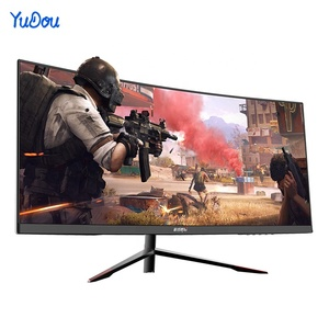Wide Screen 30 Inch Curve Surface Lcd Bending 120hz High Quality Best Gaming Computer Monitor