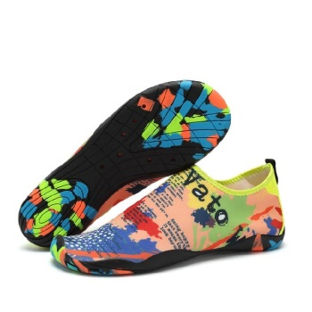 cce92d5a01da1a 2018 Popular Design Beach Shoes CheapCustomize Aqua Water Shoes Breathing  Swimming Shoes For Men