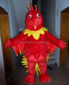 China manufacture plush phoenix mascot costume life size phoenix bird costumes for adults & China Manufacture Plush Phoenix Mascot Costume Life Size Phoenix ...