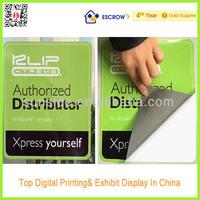 Window Gel Stickers For Distributor Advertising