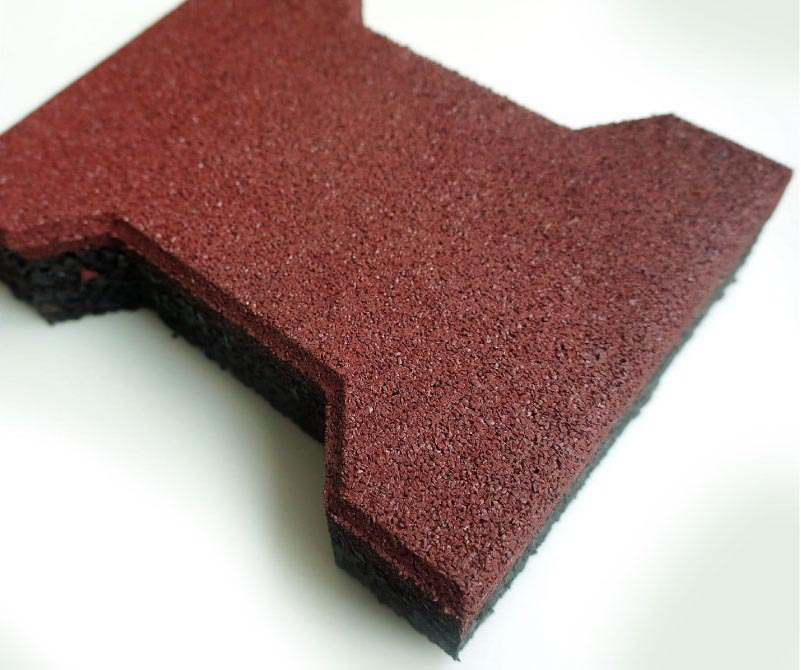 H Brick Interlocking Rubber Floor Tile Buy Interlocking