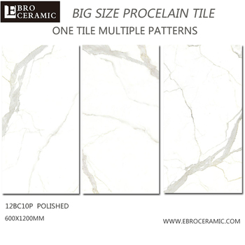 White Marble 10mm Thick Homogeneous Floor Tiles Thickness Bangladesh