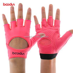 Ladies fitness yoga gloves outwork sport gloves fingerless gym gloves