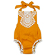 Baby One Piece Lace Jumpsuit Trendy Romper For Girls Newborn Baby Sunsuit