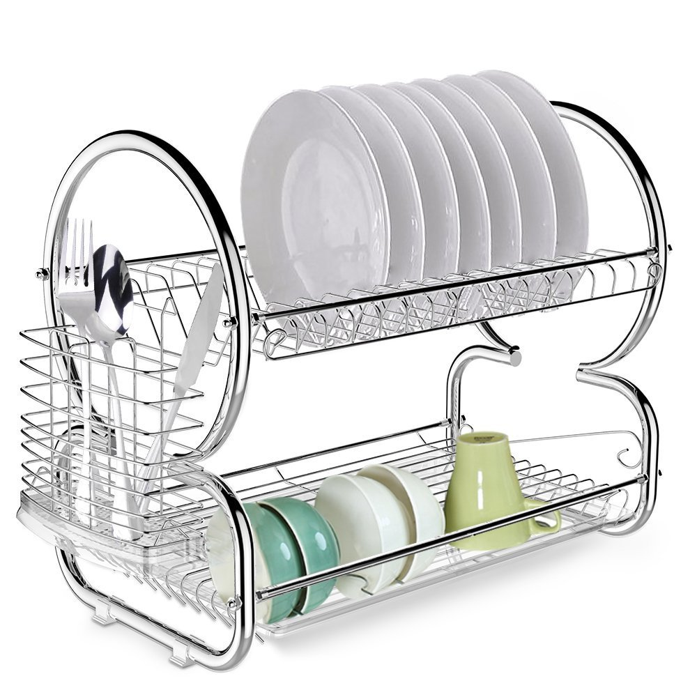 Cheap Two Tier Dish Drainer And Drip Tray, find Two Tier