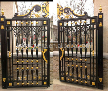 Garden Decorative Wrought Iron Gates View Kaida Product Details From Xinle Metal Products Co Ltd On Alibaba
