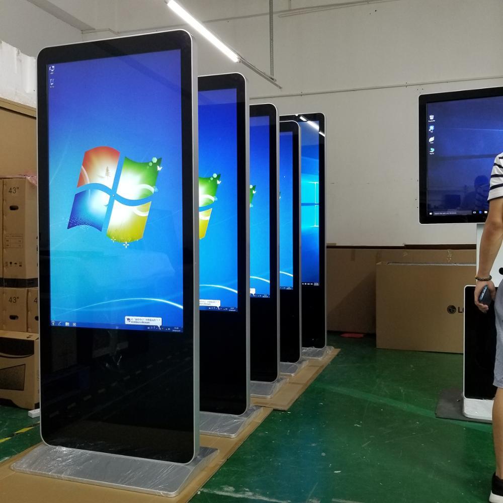 Oem 43 Inch Indoor Application Full Hd Floor Standing Digital Signage Kiosk  Advertising Poster Display - Buy Digital Signage Advertising Display,Floor