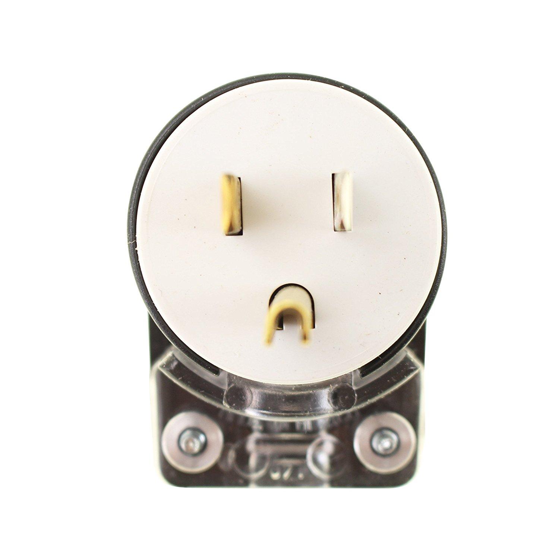 Buy Pass  U0026 Seymour 3869cc5 Angle Plug 2 Pole Three Wire 30