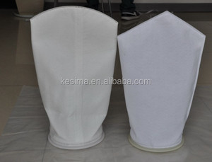 TS filter directly supplied Size NO.2 20 Micron Polyester micron rated liquid filter bag for oil water separate