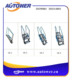 Road tank or rail tank aluminium five-step safety ladder
