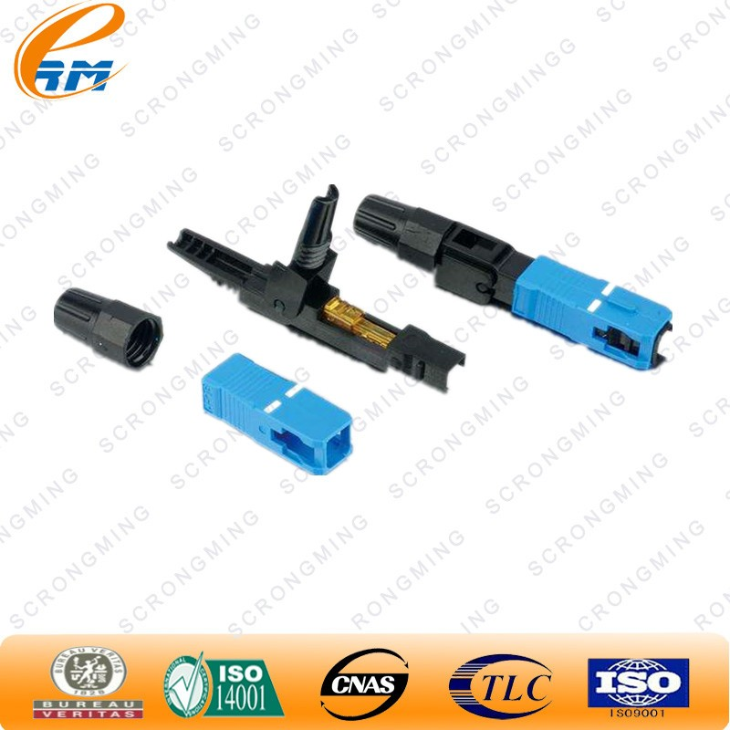 Ftth Filed Assembly SC/UPC Quick Connect Fiber Optic Fast Connector