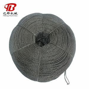 Not easy to fracture natural hemp fiber sisal rope made in China