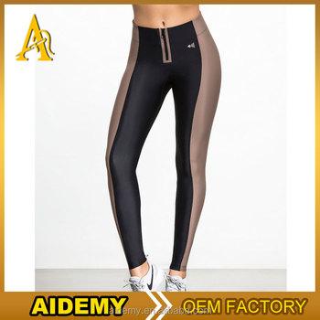 d42bc20135 Design Your Own Leggings Wholesale Womens Gym Ribbed Fitness Juliette Zip  Front Leggings - Buy Womens Gym Leggings,Womens Leggings,Ribbed Leggings ...