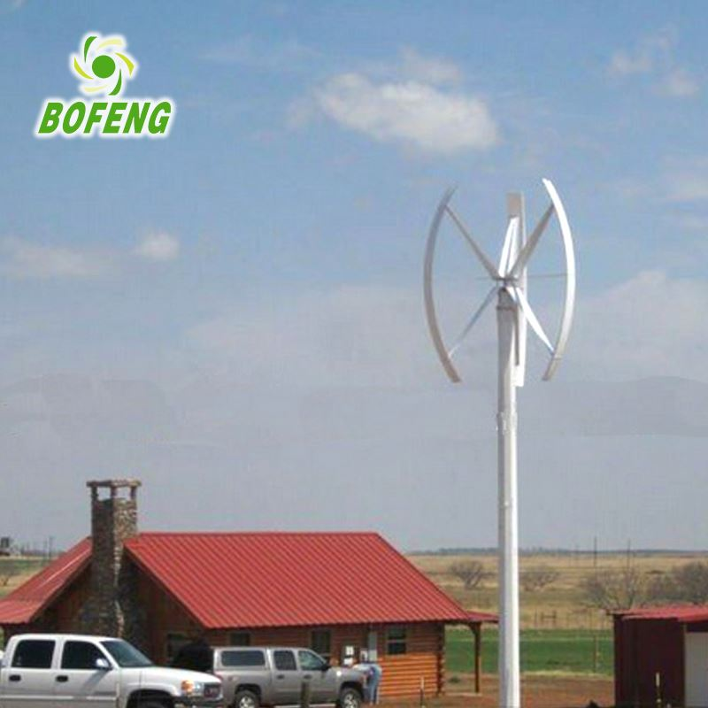 Excellent Sale Workable Price spiral 3000w vertical axis wind turbine china